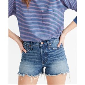 Madewell Perfect Jean Short Rayburn